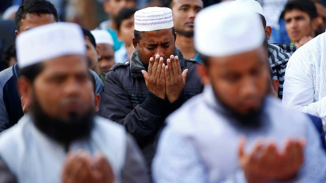Freitagsgebet. Foto: Reuters