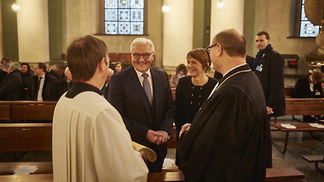 Ökumenische Andacht vor Bunderspräsidentenwahl