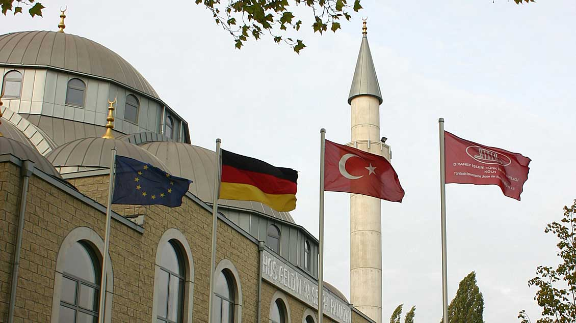 Ditib-Moschee in Duisburg-Marxloh