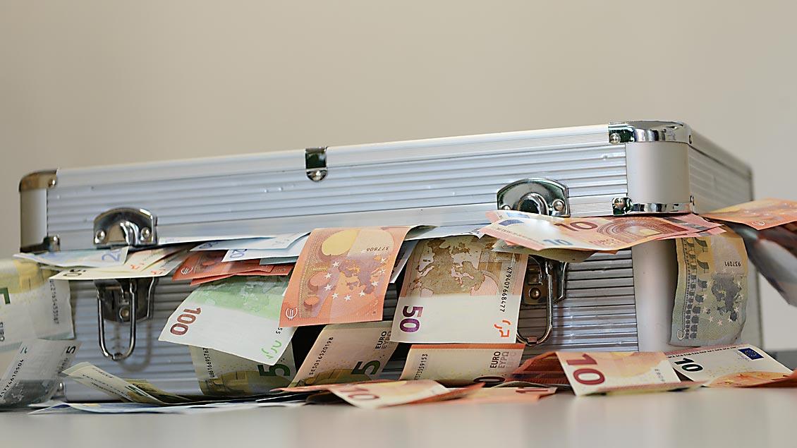 Franziskus: Nicht alles auf Geld und Macht reduzieren Foto: Michael Bönte