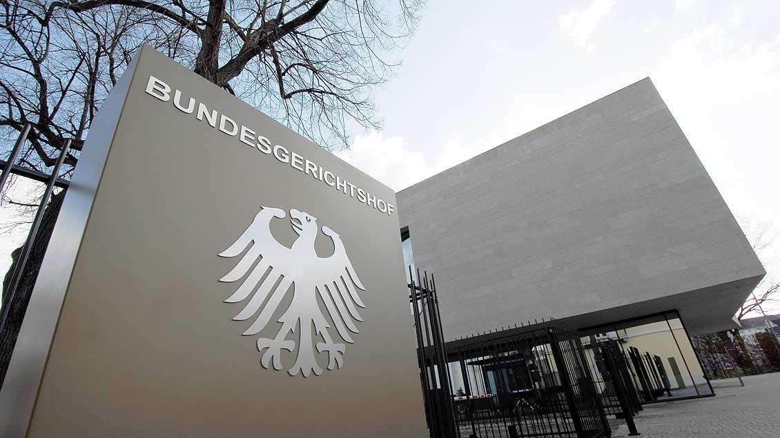 Bundesgrichtshof in Karlsruhe