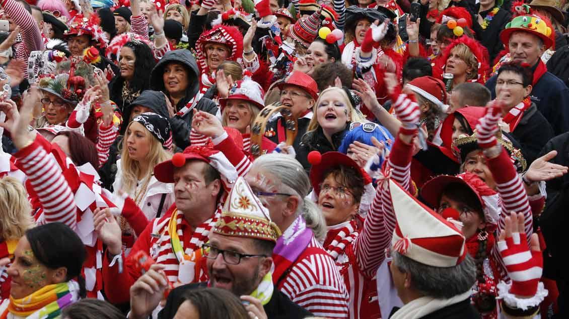 Kölner Karneval 2014.
