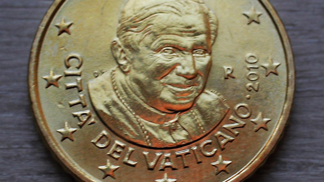 Papst-Bild nicht mehr auf Vatikan-Münzen