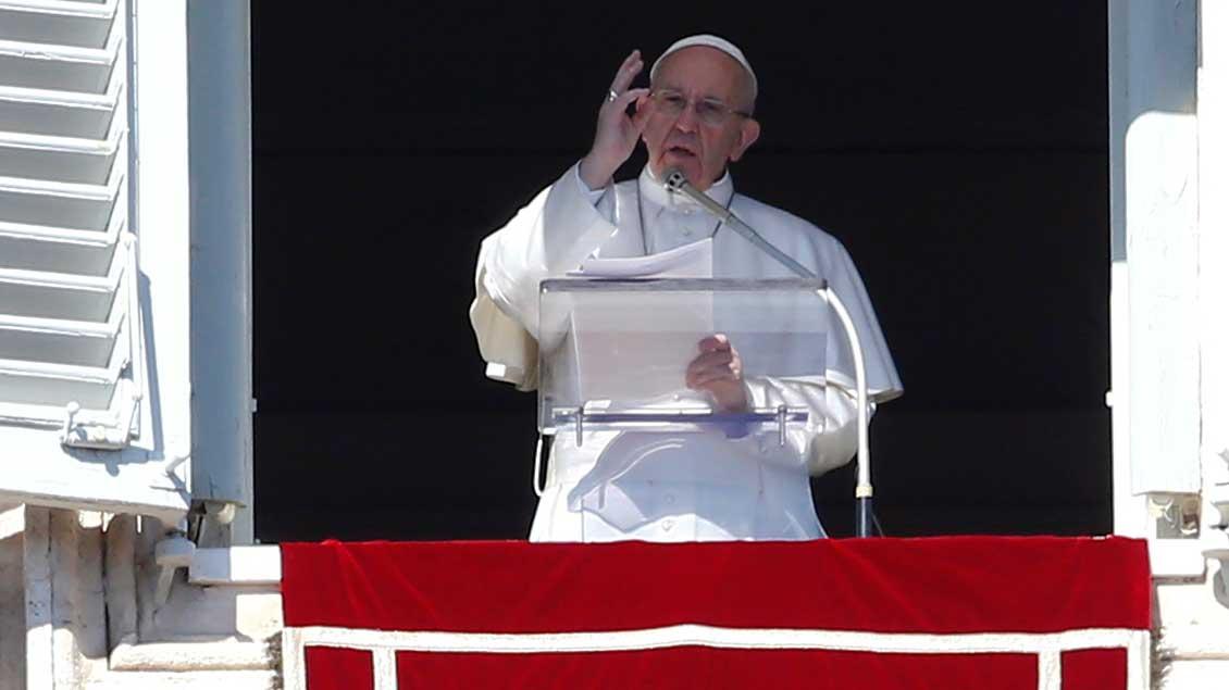 Papst Franziskus. Foto: Reuters
