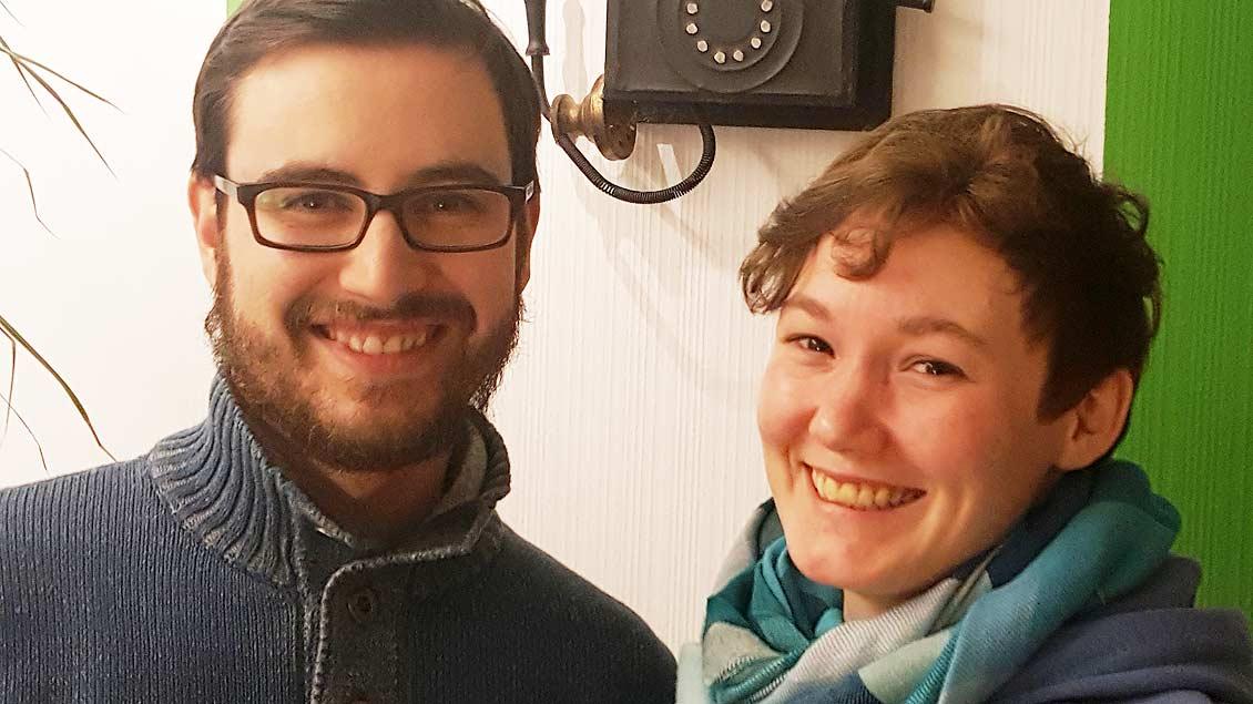 Greta und Felix von Keitz kommen als Pastoralreferenten nach Lohne und Steinfeld.