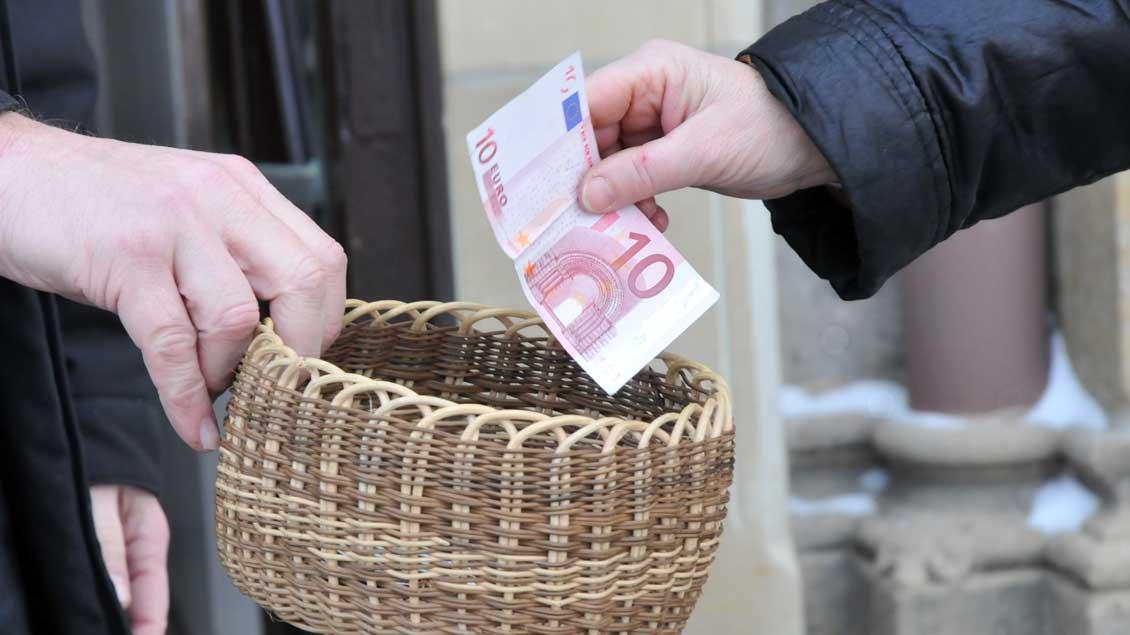 Die durchschnittliche Spendenhöhe betrug im vergangenen Jahr 35 Euro.