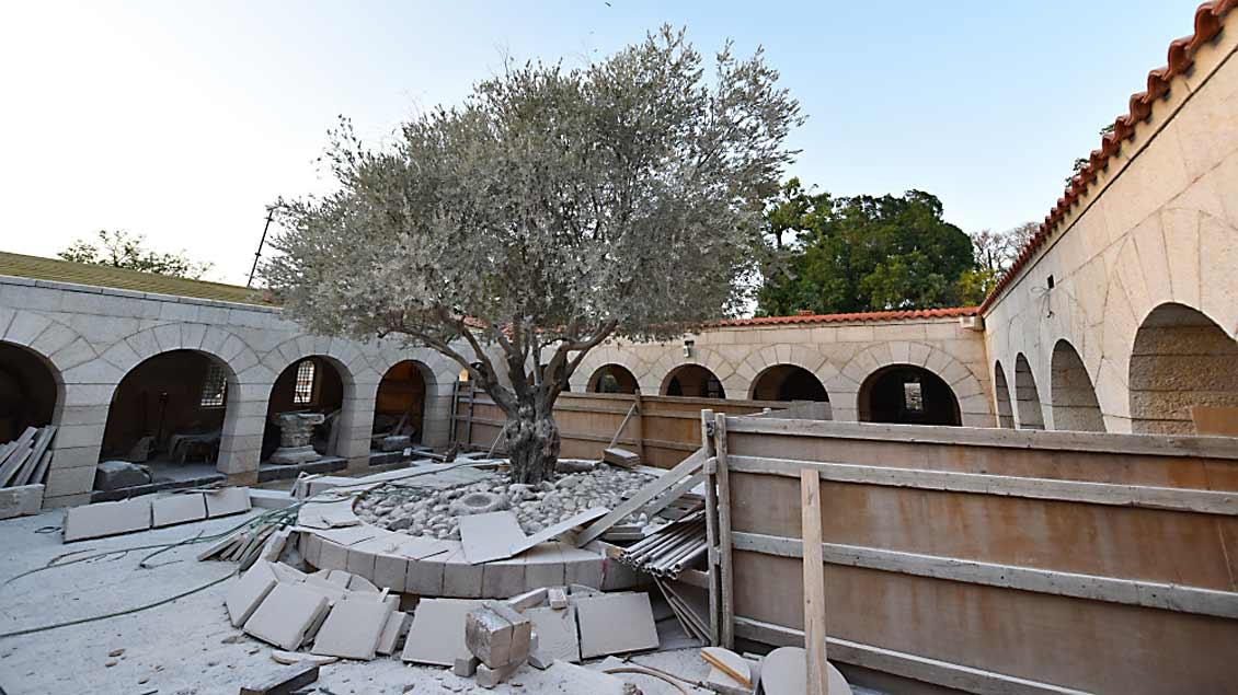 Kirche in Tabgha wiedereröffnet