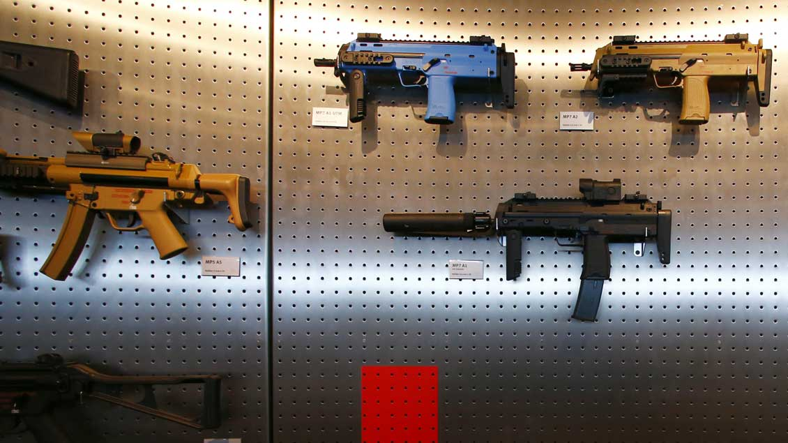 Waffen. Foto: Reuters
