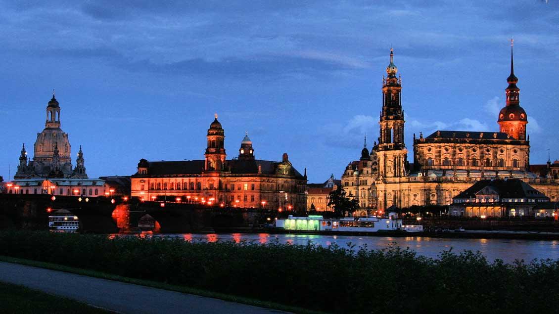 Altstadt von Dresden.
