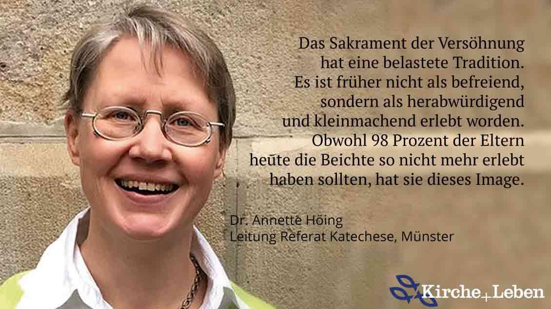 Annette Höing, Leiterin des Referats Katechese im Bischöflichen Generalvikariat Münster.