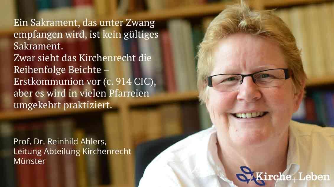 Reinhild Ahlers, Leiterin Abteilung Kirchenrecht, Bischöfliches Generalvikariat Münster.