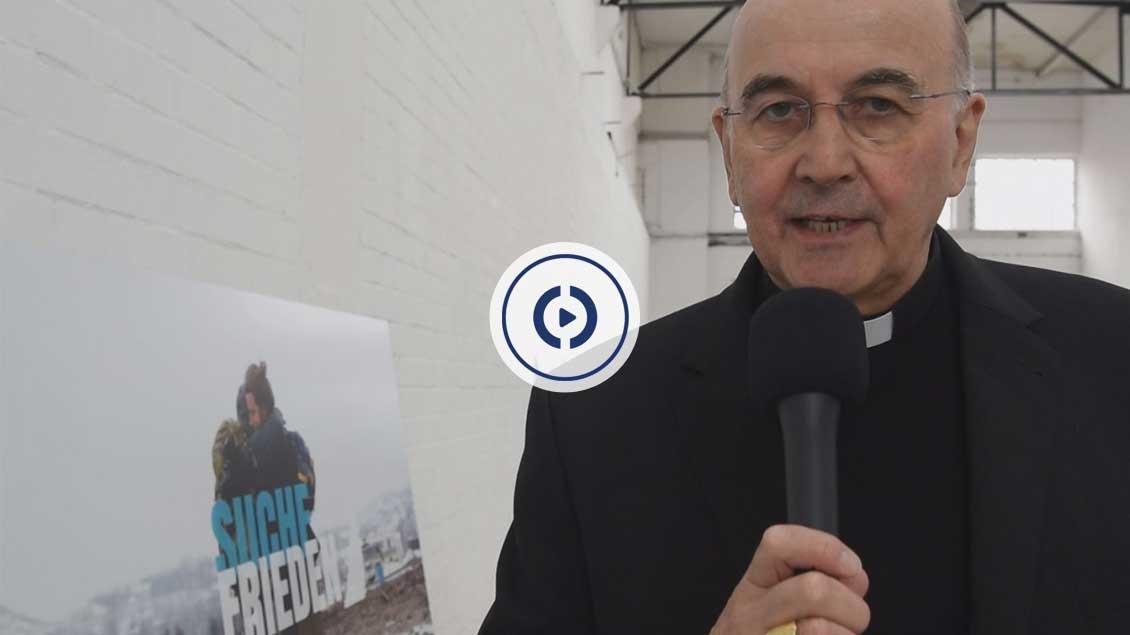 Bischof Felix Genn über sein Lieblingsmotiv der Werbekampagne. | Video: Michael Bönte
