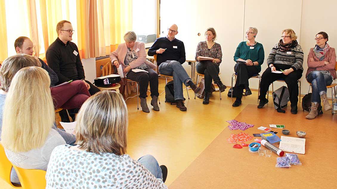 Viele praktische Anregungen gab es in den Workshops.