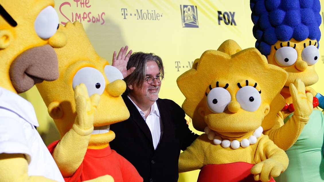 Matt Groening, Erfinder der Simpsons.