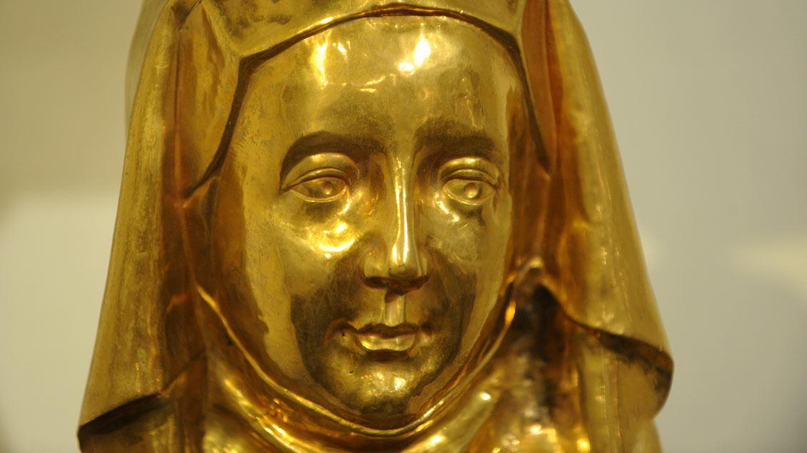 """Die heilige Ida wird als """"Mutter der Armen"""" verehrt."""