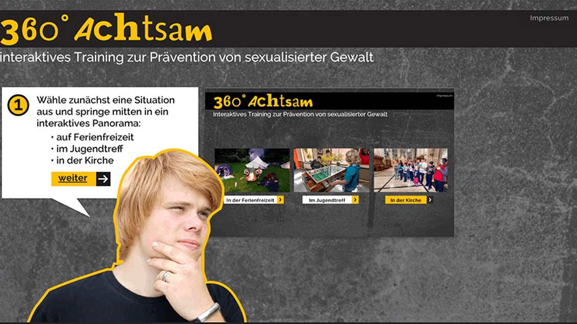 """Die neue Internetseite  """"360-Grad-Achtsam"""""""