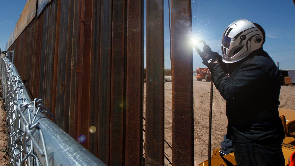 Grenzmauer zwischen Mexiko und den USA
