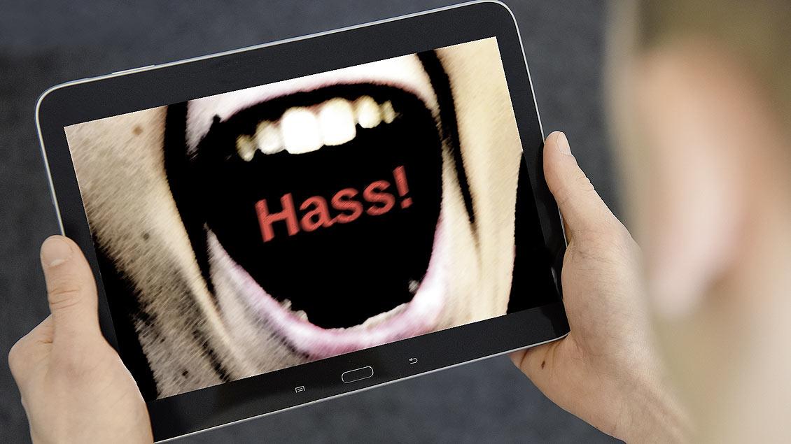 Hass-Reden im Internet