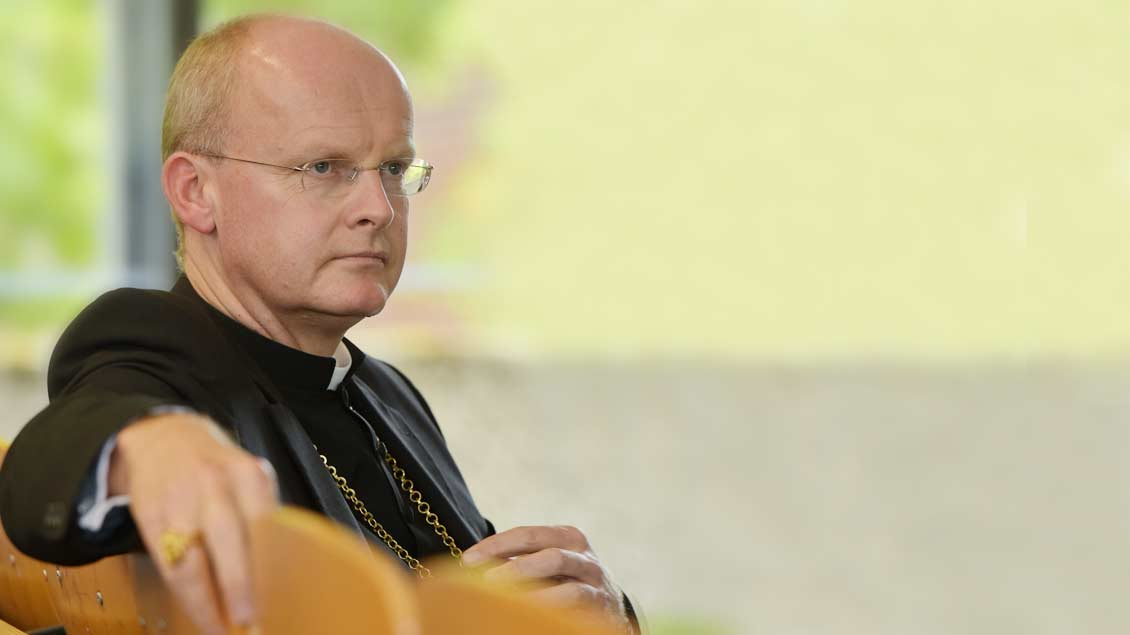 Ruhrbischof Franz-Josef Overbeck wendet sich gegen eine Zerschlagung des Konzerns ThyssenKrupp. Foto: Miachel Bönte
