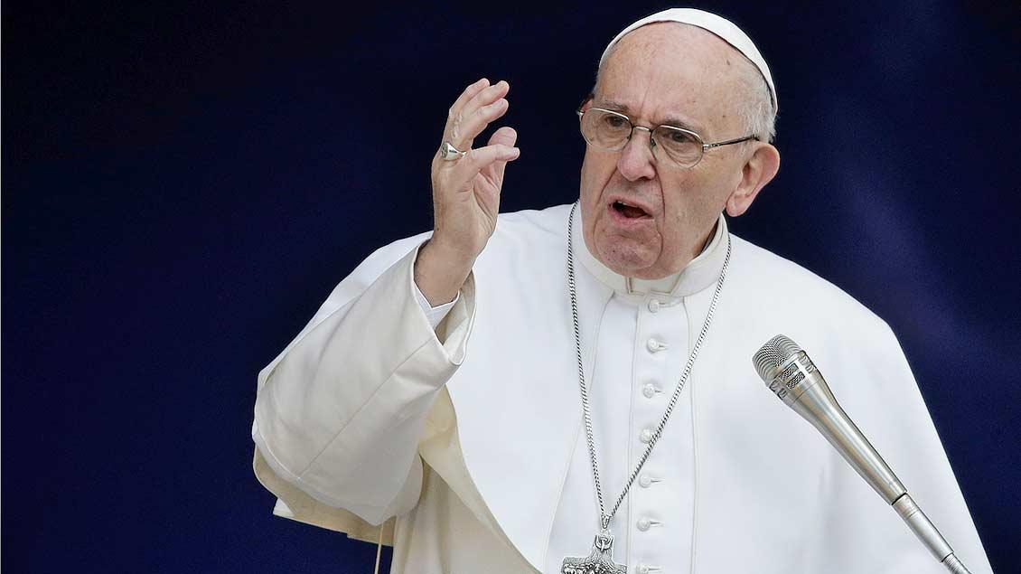 """Papst Franziskus hat der Wochenzeitung """"Die Zeit"""" ein Interview gegeben."""