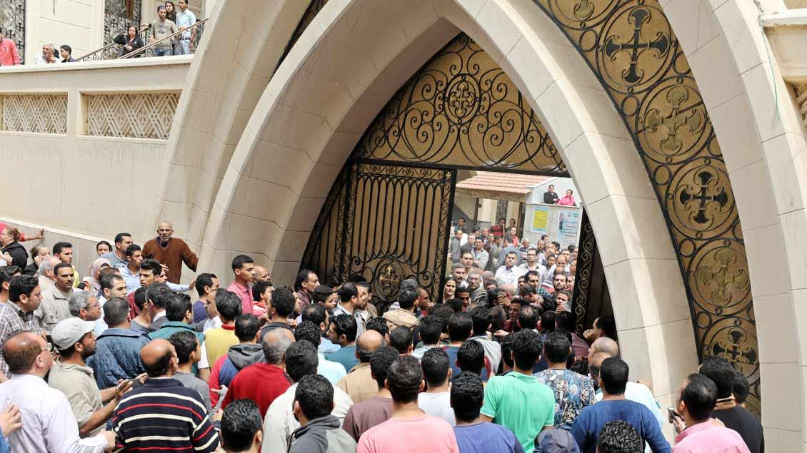 Trauer in Ägypten