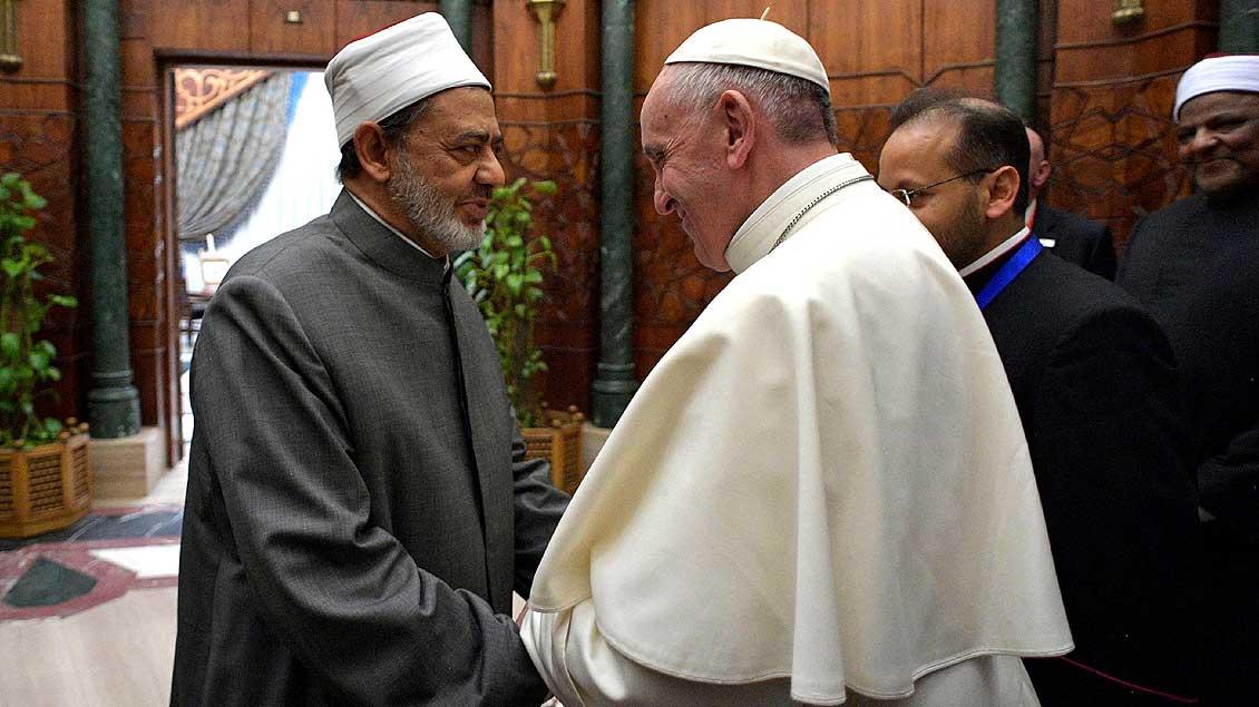 Papst in Kairo