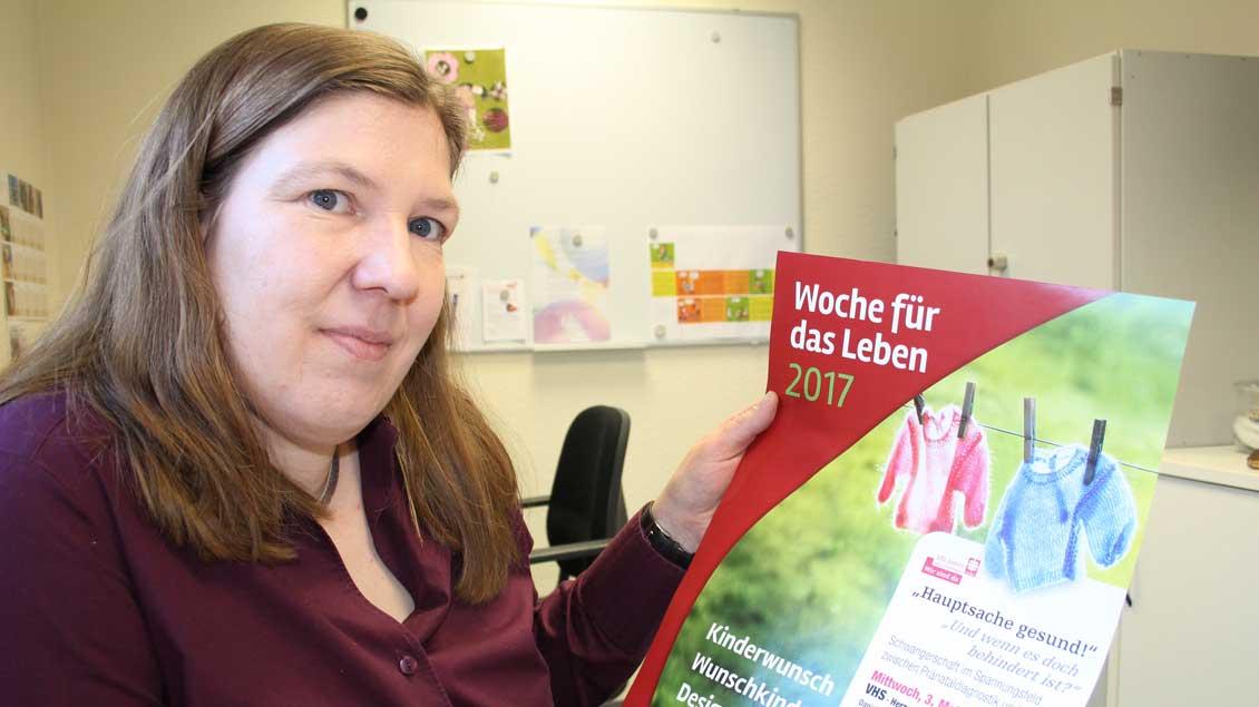 Caritas-Beraterin Nicole Baden