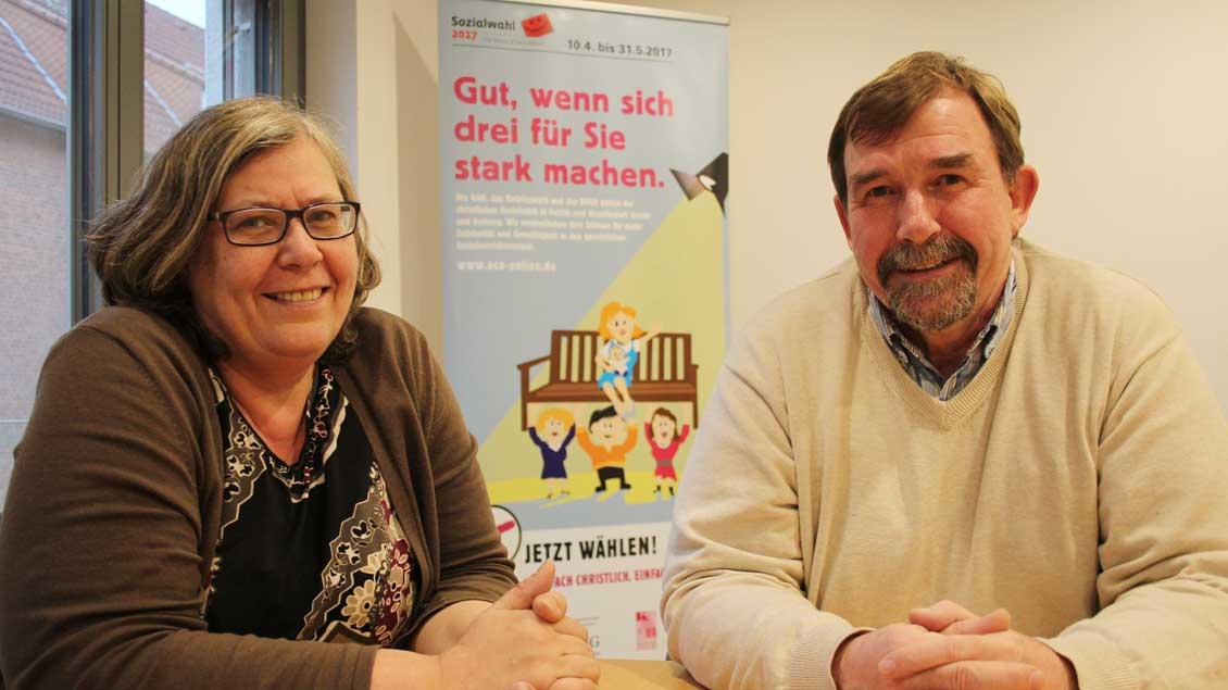 Sigrid Audick und Josef Mersch