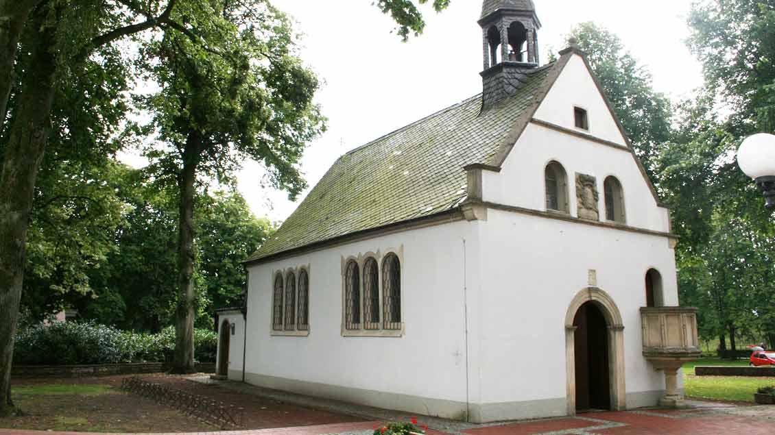 Die Wallfahrtskapelle auf dem Hilgenberg wurde unter Fürstbischof Friedrich Christian von Plettenberg 1695 erbaut und 1738 erweitert.