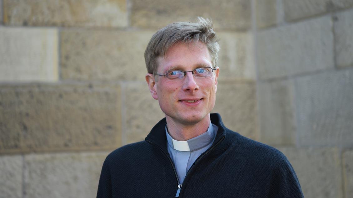 Franziskus von Boeselager ist Kaplan in St. Pantaleon in Roxel.