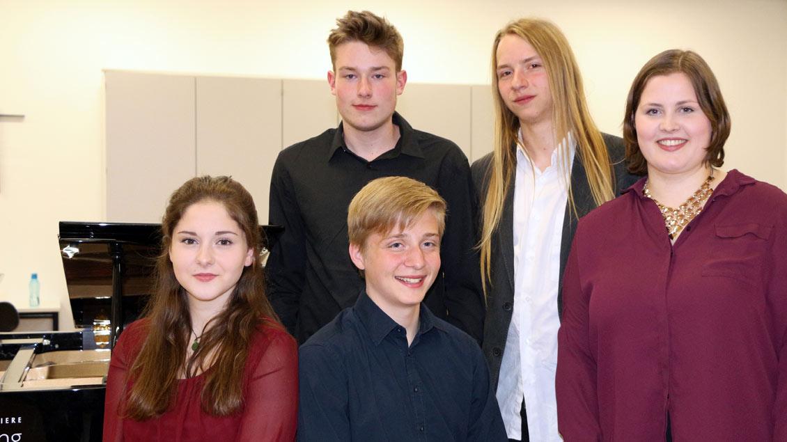 Stipendiaten 2017 des Freundeskreises Dommusik Münster