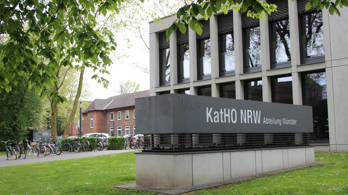 Die Katholische Fachhochschule in Münster feiert Jubiläum.
