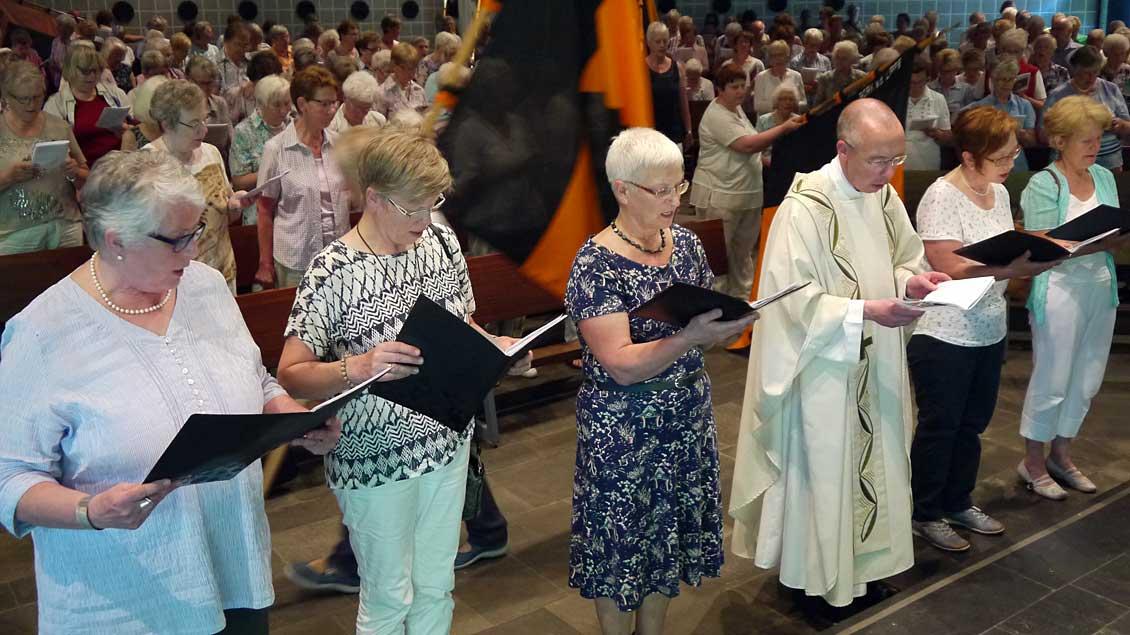 Prälat ruft Kolping-Mitglieder zum Einsatz für Migranten auf