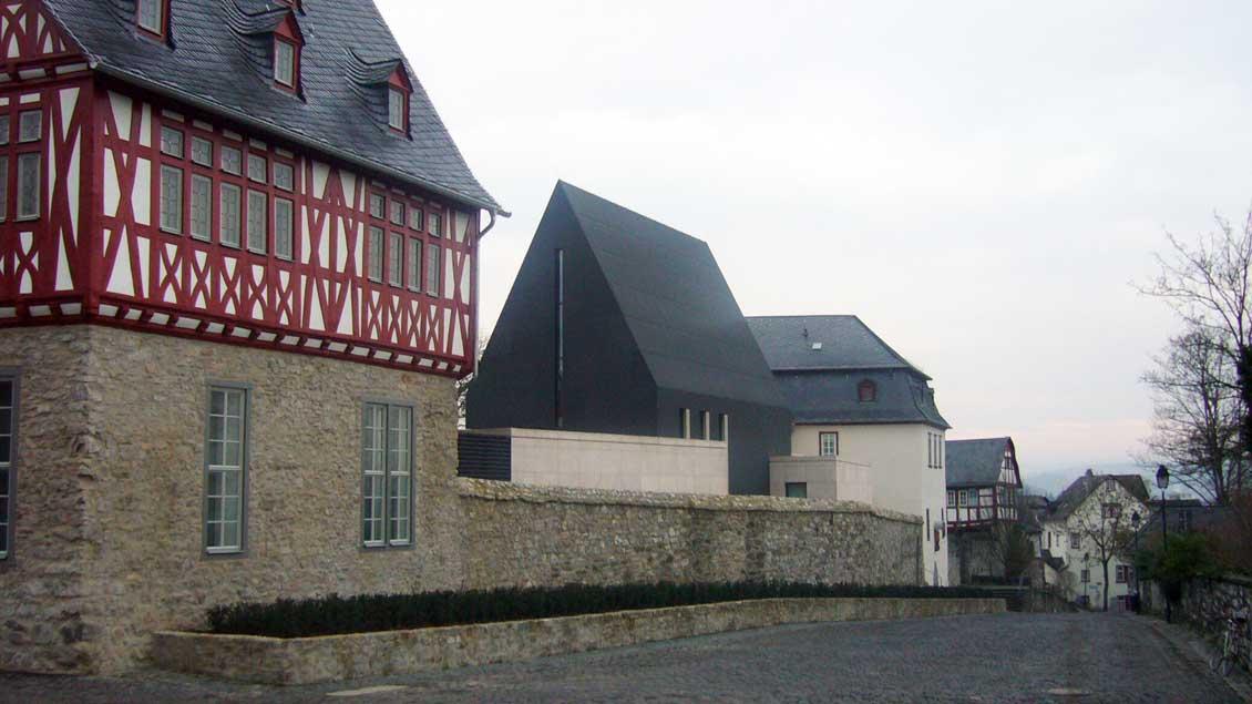 Das umgebaute Bischofshaus in Limburg.