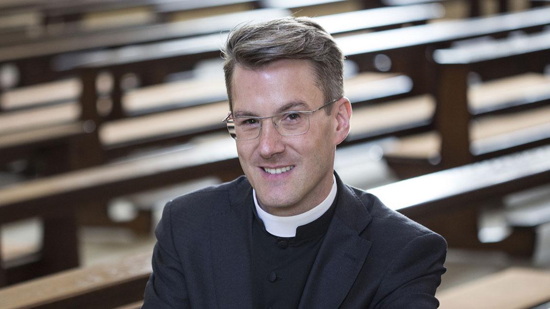 Markus Tüshaus ist neuer Schulseelsorger am Gymnasium St. Mauritz.