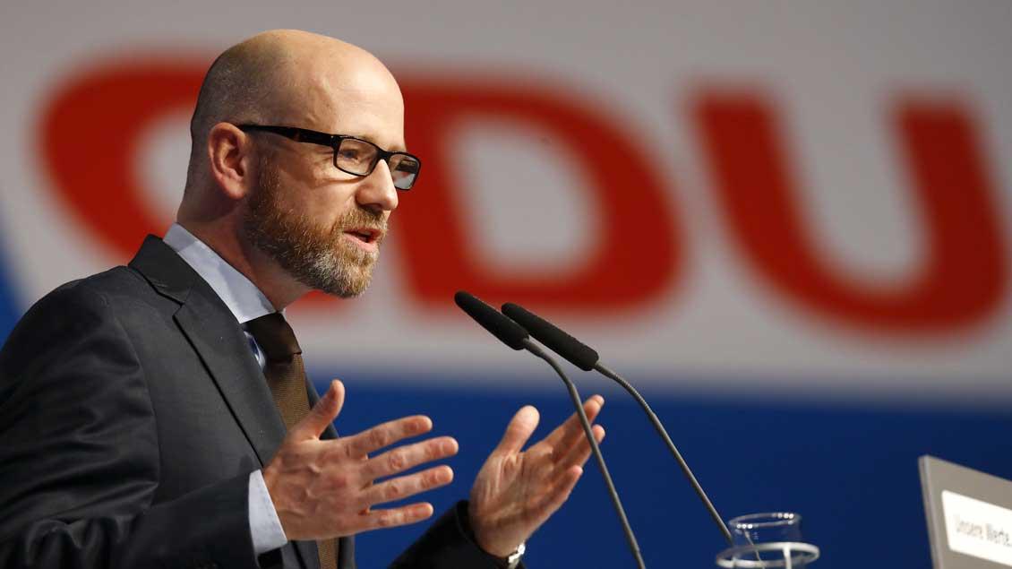 CDU-Generalsekretär Peter Tauber.