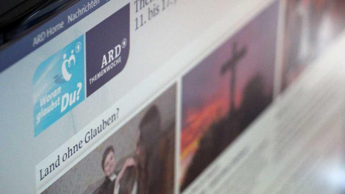Die Homepage zur ARD-Themenwoche.
