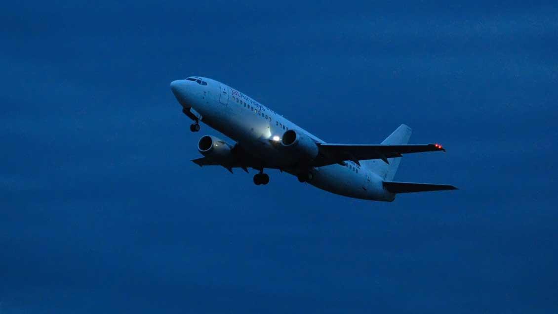 Abschiebungen nach Afghanistan erfolgen per Flugzeug.