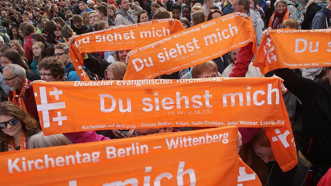 Evangelischer Kirchentag in Berlin