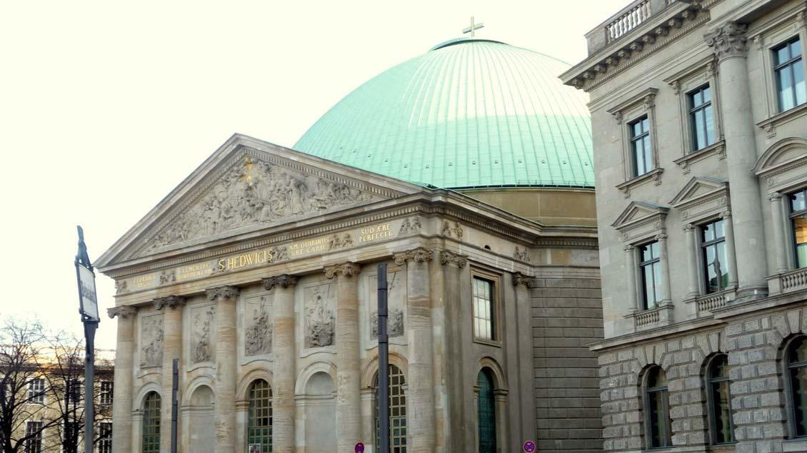 Der Gottesdienst fand in der Hedwigskathedrale statt.