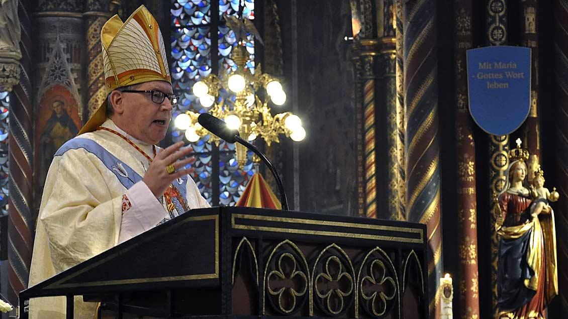 Niederländischer Bischof predigt in Kevelaer