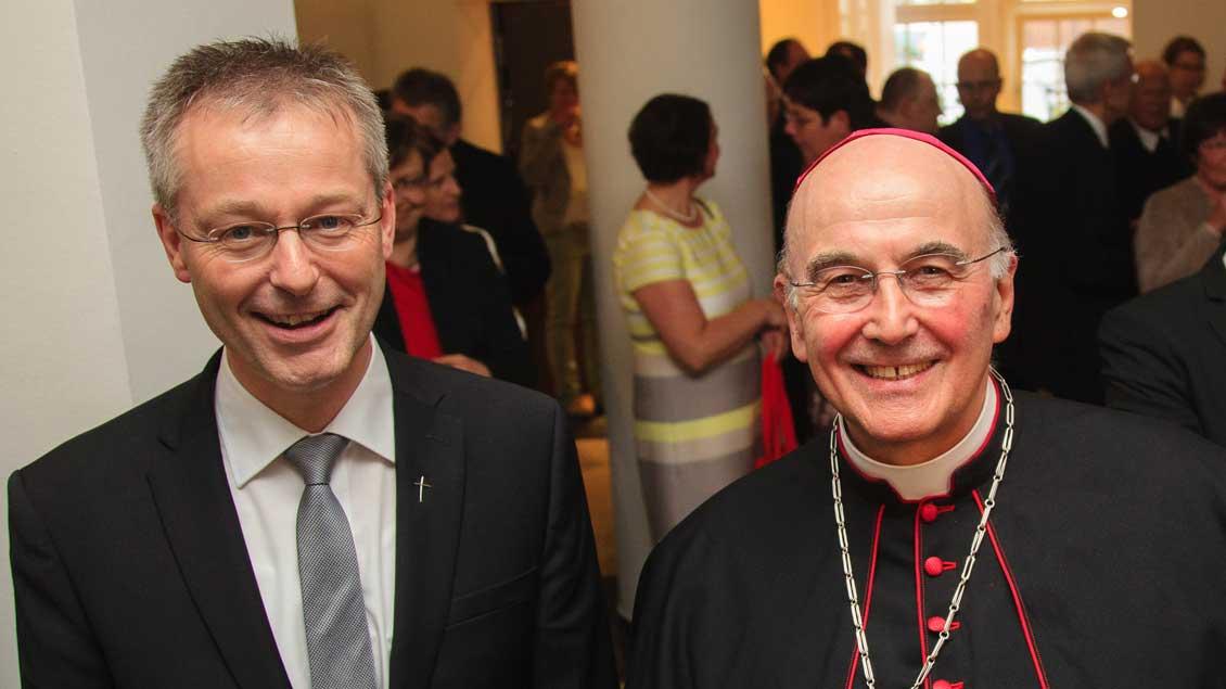 Generalvikar Norbert Köster ist in Verwaltungsfragen Stellvertreter von Bischof Felix Genn.