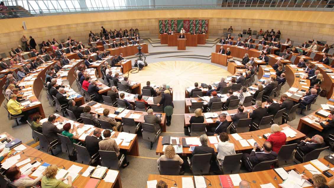 Plenarsitzung im NRW-Landtag (Archivfoto).
