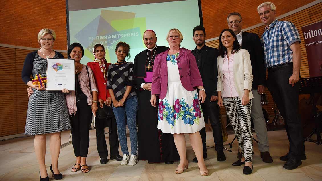 Siegerfoto: Gerburgis Sommer und ihr Team. | Foto: Michael Bönte