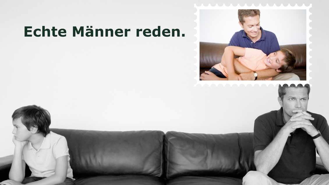 Logo Foto: Logo des Netzwerks www.echte-männer-reden.de