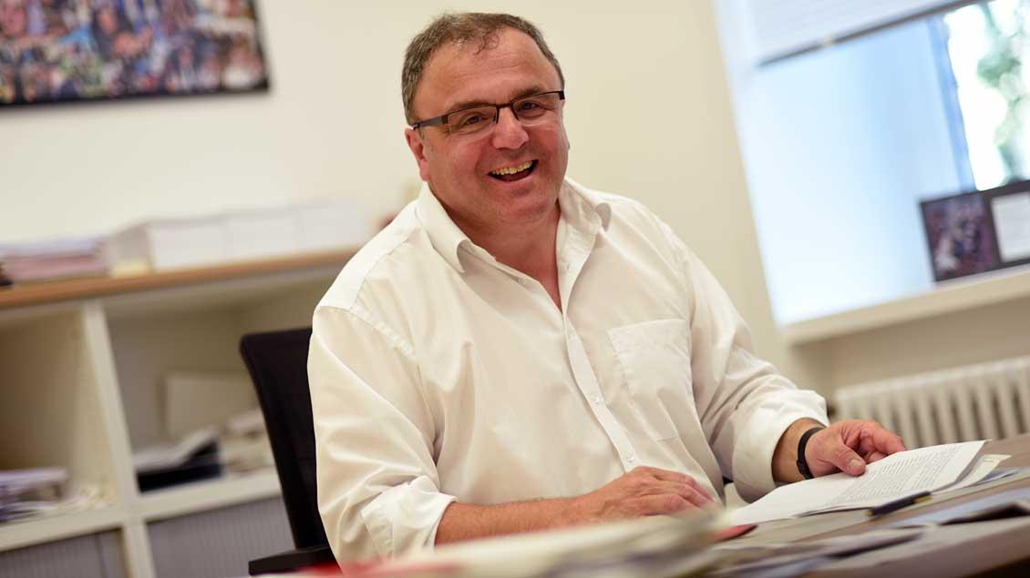 Hans-Bernd Köppen wird seinen Schreibtisch im Generalvikariat räumen.