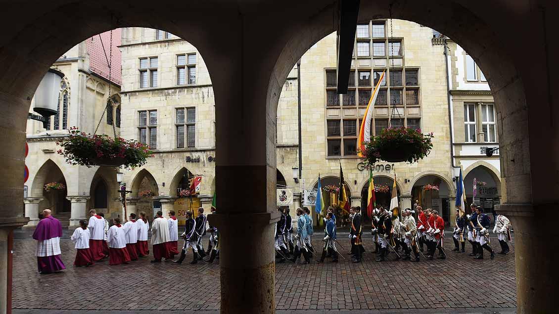 Große Prozession in Münster