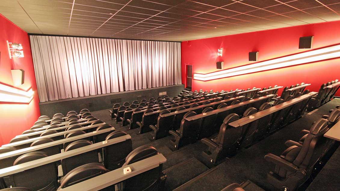 In diesem Saal des Lohner Kinos wird die Gemeinde für ihr Projekt werben.