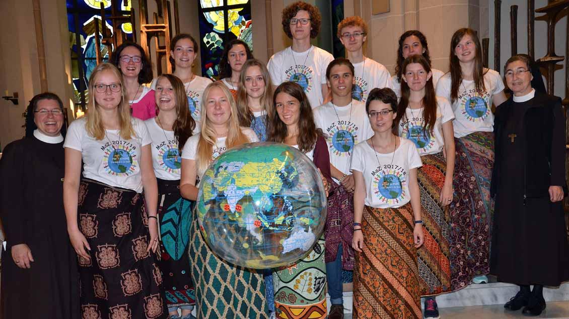 Die Missionarinnen und Missionare auf Zeit.