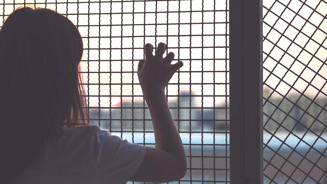 Menschenhandel betrifft vor allem Frauen und Mädchen.